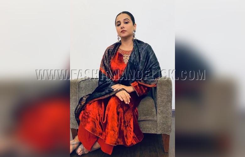 Vidya Balan in Ayush Kejriwal X Label Varsha